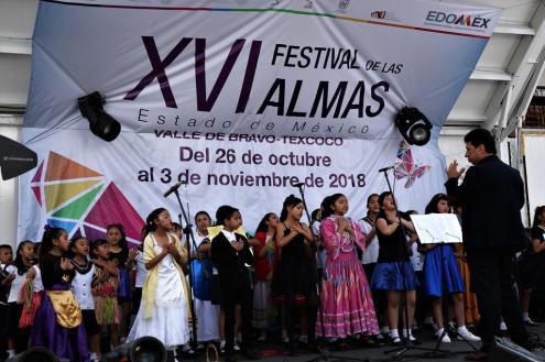 Muestran voces infantiles su talento en el Festival de las Almas 1
