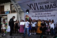 Muestran voces infantiles su talento en el Festival de las Almas 2