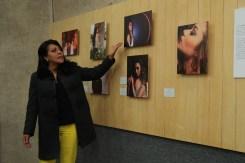 Comparten especialistas plática y exposición fotográfica sobre la Lucha contra la Violencia de Género