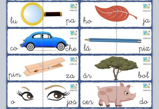 puzzle silaba