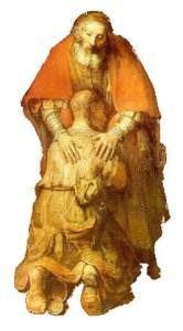 Rembrandt, Le Retour du fils prodigue, 1668