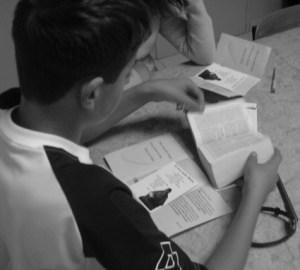 Bible et jeunes confirmands