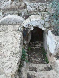 Tombeau époque hérodienne (Jérusalem)