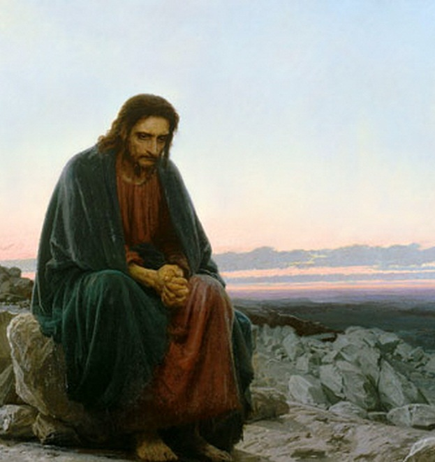 Désert 4 – Et dans l'Esprit, Jésus fut conduit au désert (Lc 4)