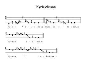 Kyrie … avec un K comme carême