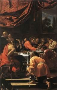Simon Vouet, la Cène, 1615