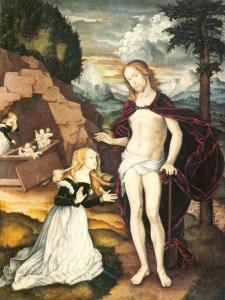 (2) Tombeau vide et croix nue