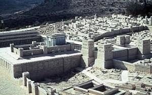 Reconstitution du Temple, maquette à Jérusalem