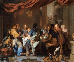 Gérard de Lairesse, institution de l'Eucharistie, 1665
