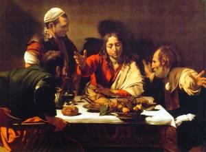 La Caravage, le souper à Emmaüs, 1600