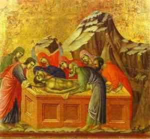 Mise au tombeau di-Buoninsegna