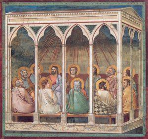 Giotto, la Pentecôte, v.1300