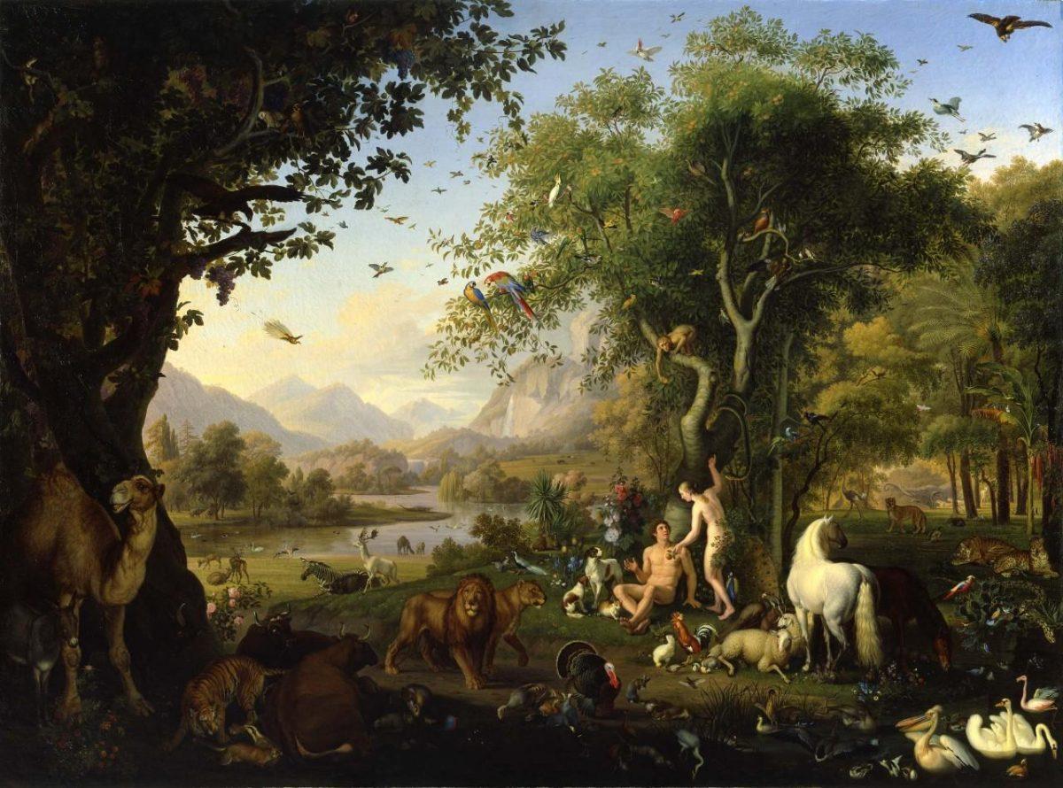 Peter Wenzel, le Paradis Terrestre, 1829