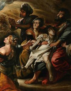 1605, Transfiguration, Rubens (détail)