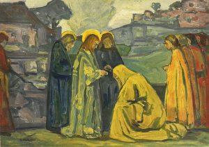 Jésus et la Cananéenne, Holzel, 1930