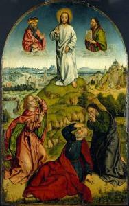 Transfiguration, Aelbrecht Bouts, 1500