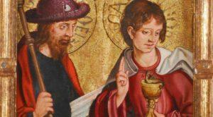 Maitre de Ventosilla, Saint Jacques et saint Jean, apôtres.1530