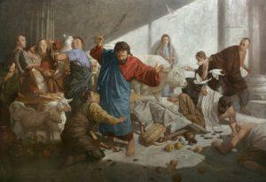 Andrey Mironov, Jesus chassant les marchands du temple, 2012