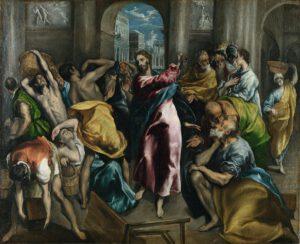 El Greco, Purification_temple,1600
