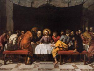 Frans Pourbus (le jeune), _Le dernier repas, 1618