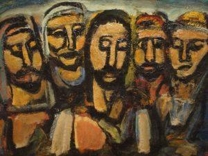 Georges Rouault, Christ et Apotres, 1937