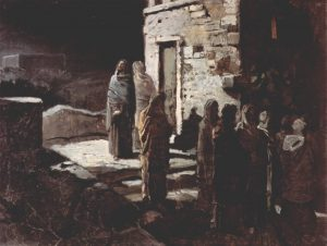 Nikolasj Ge, Christ entre au jardin de Getsemani, 1888