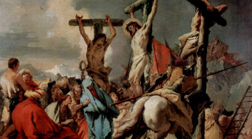 Giovanni Battista Tiepolo, crucifixion,1750