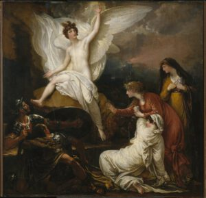 1805, Benjamin West Overall, Les femmes au tombeau, Brooklyn Museum