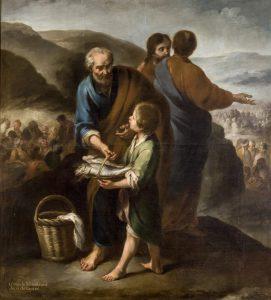 Pain de Vie (1/5) – Cinq pains, deux poissons, quatre invitations (Jn 6,1-16)