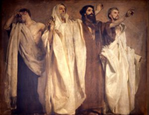 Prophètes, John Singer Sargent, 1895