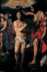 Daniele Crespi, Le baptême du Christ, 1630
