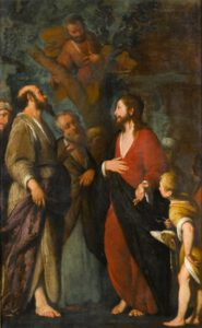 Bernardo Strozzi, La conversion de Zachée, XVIIème