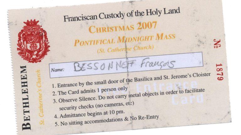 Noël à Bethléem