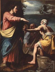 Anonyme, La vocation de saint Pierre et saint André, XVIeme