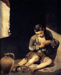 Bartolomé Esteban Murillo, Le jeune mendiant, 1645