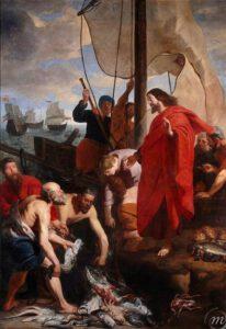 Gaspar de Crayer, La pêche miraculeuse, 1635