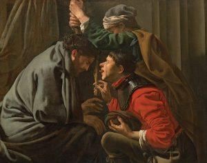 Hendrick ter Brugghen, La dérision du Christ, 1629
