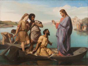 Pierre Henri Picou, La pêche miraculeuse, 1850