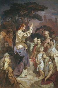 Ivan Makarov, Le sermon sur la montagne, 1889