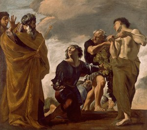 Lanfranco, Moses and the Messengers from Canaan, 1624