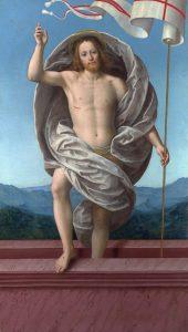 Gaudenzio Ferrari, Christ Ressuscité,1550