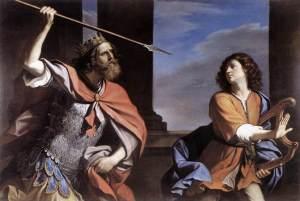 Guercino, Saul et David, 1646