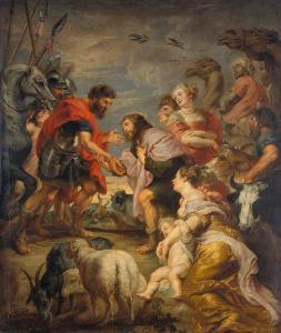 Pierre Paul Rubens, Jacob et Esau réconcilié, 1625