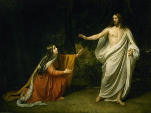 Alexandre Ivanov, Le Christ aparaissant à Marie Madeleine, XIXs.
