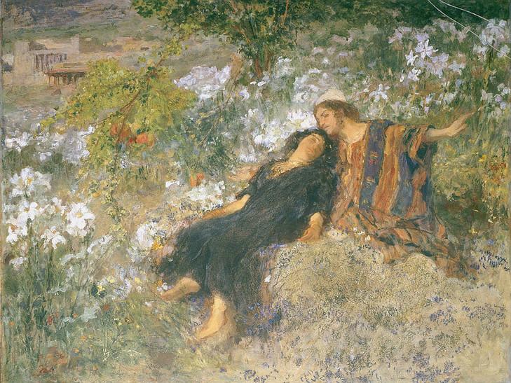 Damenico Morelli, le cantique des cantiques, 1901