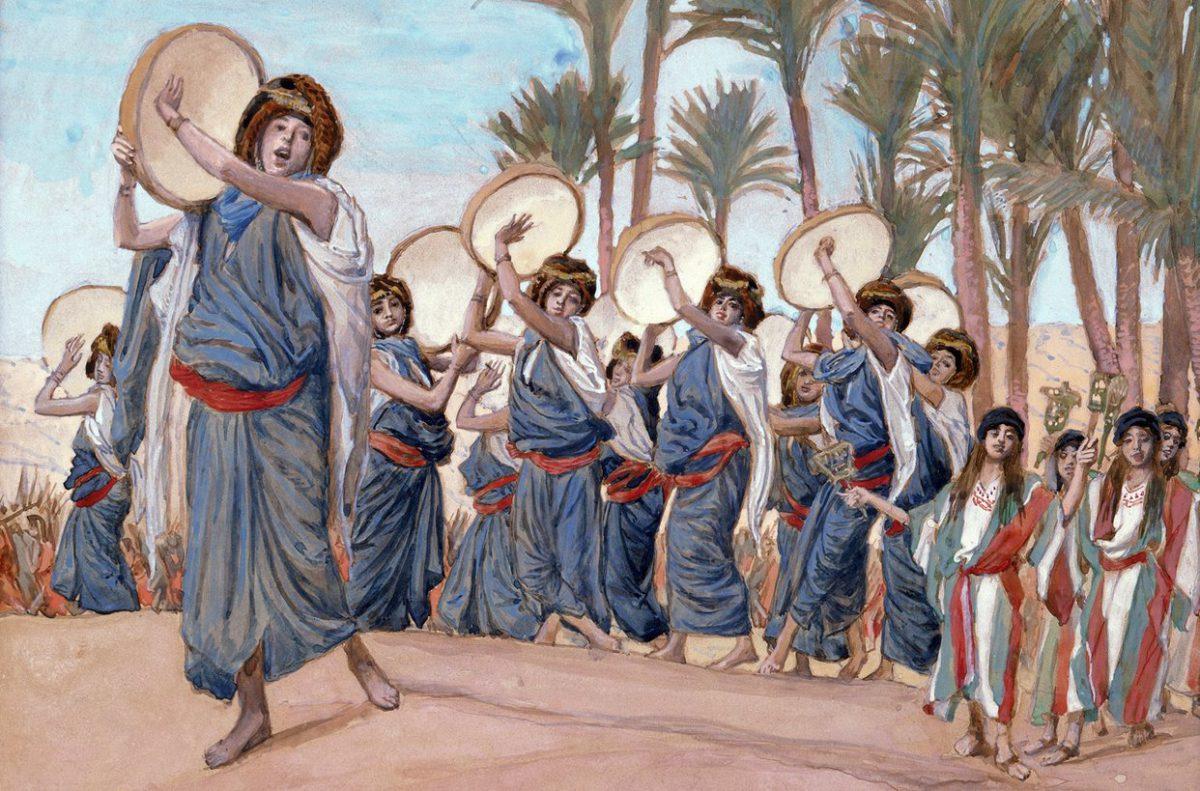 James Tissot, Les chants de joie, 1902