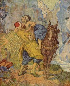 Vincent van Gogh, le bon Samaritain, 1890
