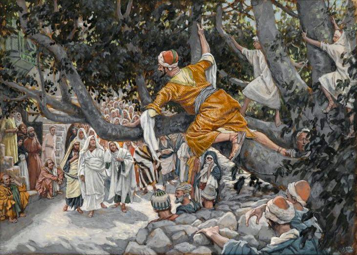 L'aujourd'hui de Zachée (Lc 19,1-10)
