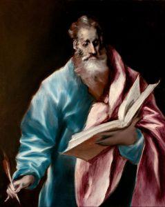 El Greco, Saint Matthieu, 1614