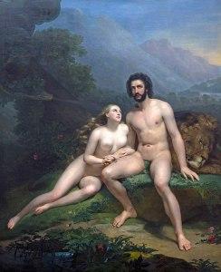 Claude-Marie Dubufe, Adam et Eve, 1827